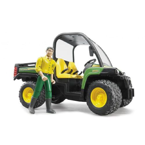 John Deere 855D Gator With Functional Man